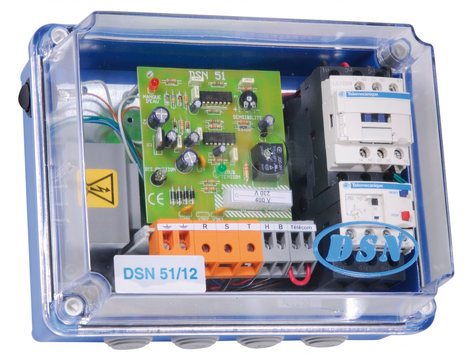 Coffret De Protection électrique Dsn 51 12t Jetly