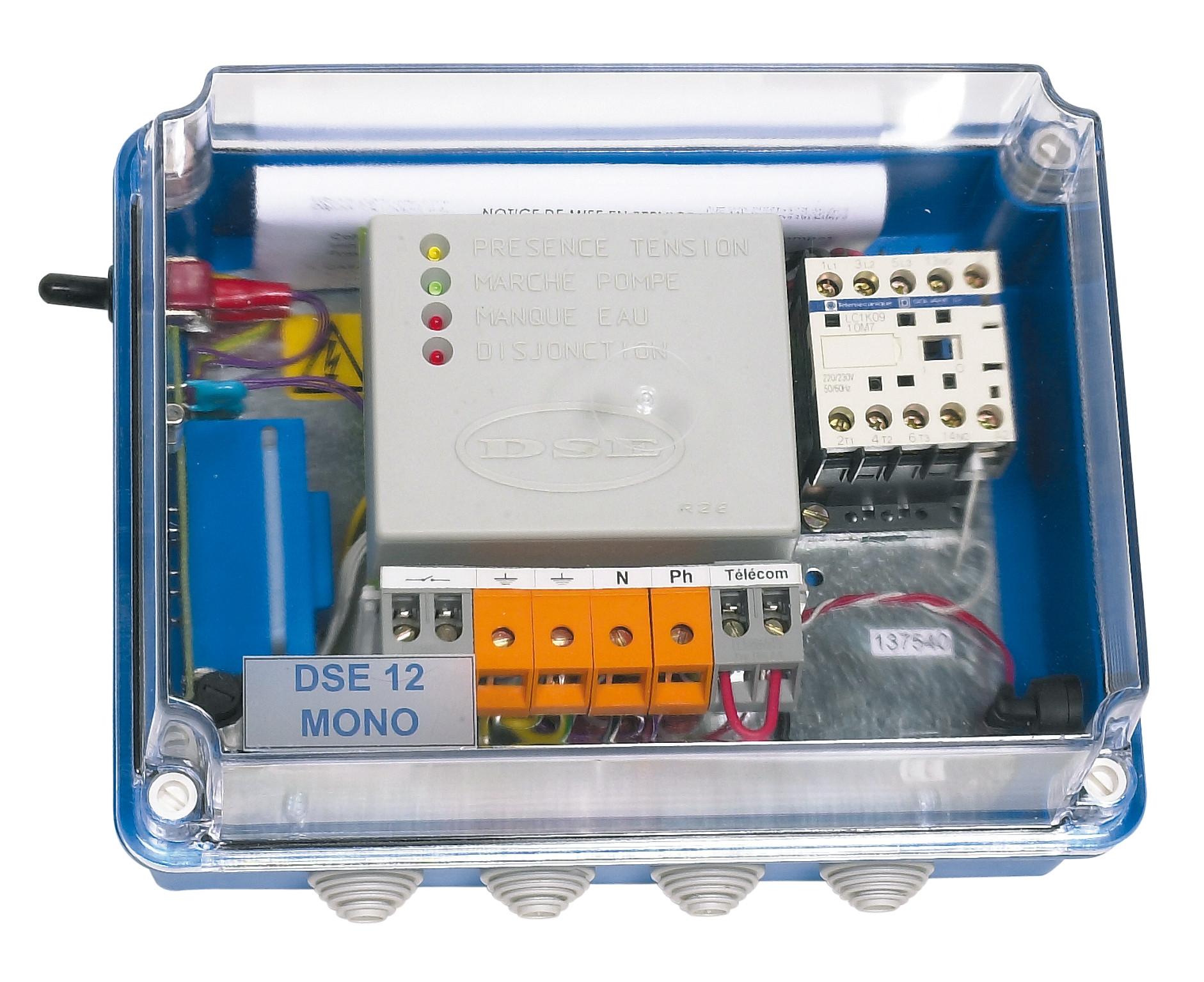Coffret de protection électrique DSE 12 Mono