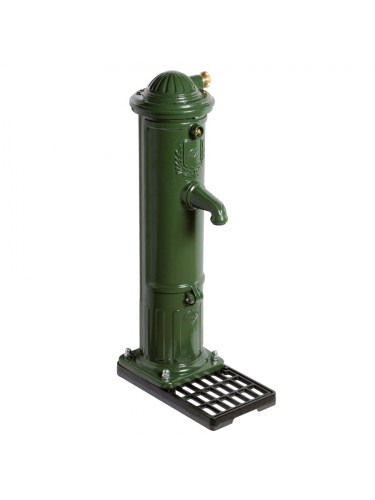 Borne fontaine Bayard non incongelable à bouton