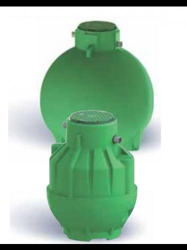 Cuve récupération eau de pluie Ecobase 1500L Plasteau