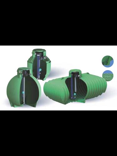 Cuve récupération eau de pluie équipée Ecociter 4000 L Plasteau