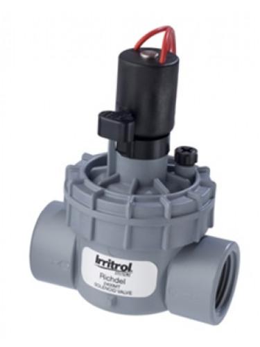 """Electrovanne Richdel 2400 1"""" FF 9V Irritrol"""