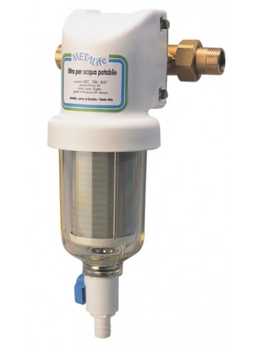 Filtre rinçable MEC 316 - 3/4'' METALIFE