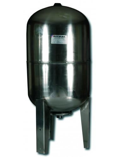 Réservoir pression inox vertical - Gitral