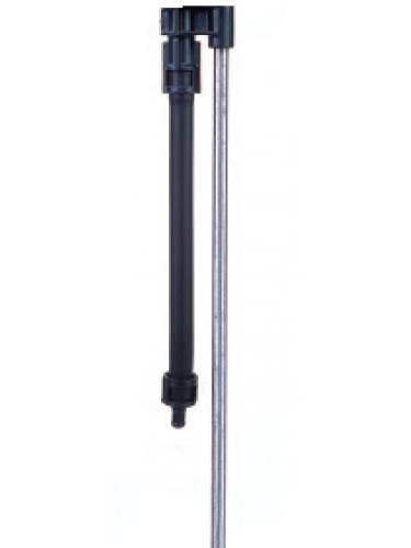 """Montage Rotator sur tige métal 1 mètre x taraudé 1/2"""""""