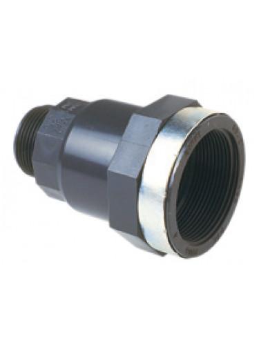 Réduction PVC F 2'' - M 1''1/4 Jetly