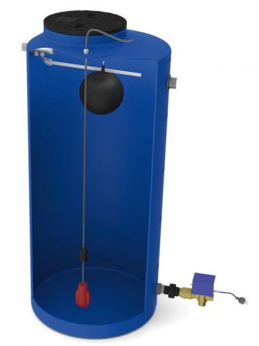 Système de gestion eau de pluie BASCULUS 500 Jetly ouvert