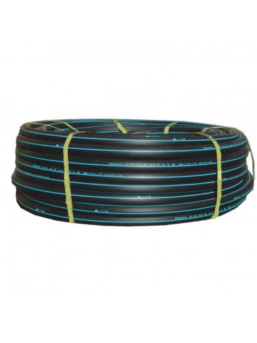 Tuyau polyéthylène bande bleu 25 mètres