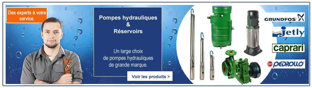 Pompes hydrauliques Jetly Grundfos Caprari